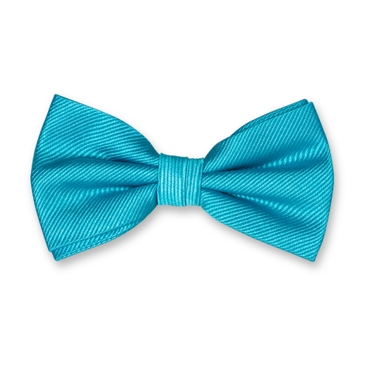 Turquoise Bow Tie - Silk (1)