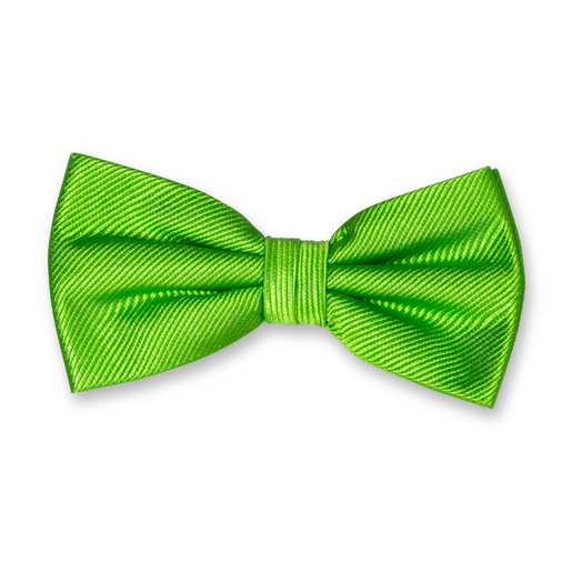 Apple Green Bow Tie - Silk (1)