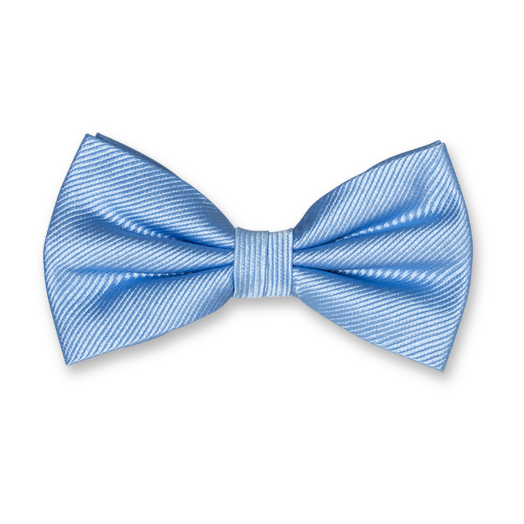 Light Blue Bow Tie - Silk (1)
