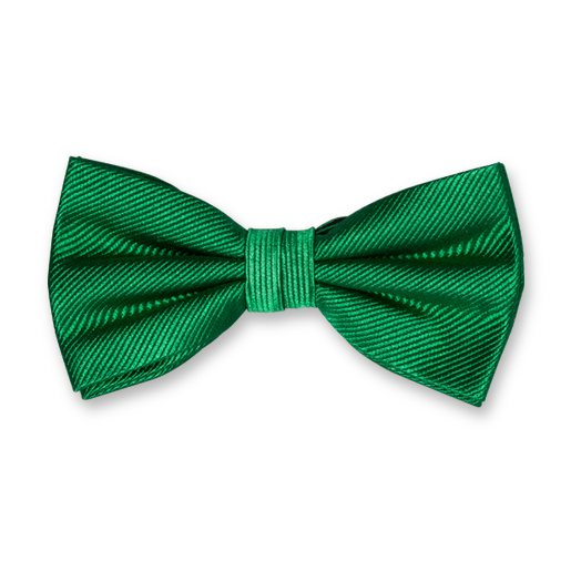 Green Bow Tie - Silk (1)