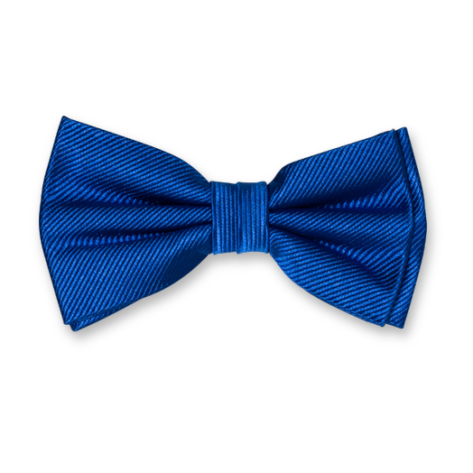 Royal Blue Bow Tie - Silk (1)