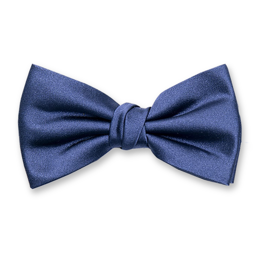 Luxury bow tie blue – Profuomo (1)