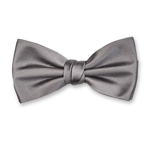 Luxury bow tie gray – Profuomo (1)