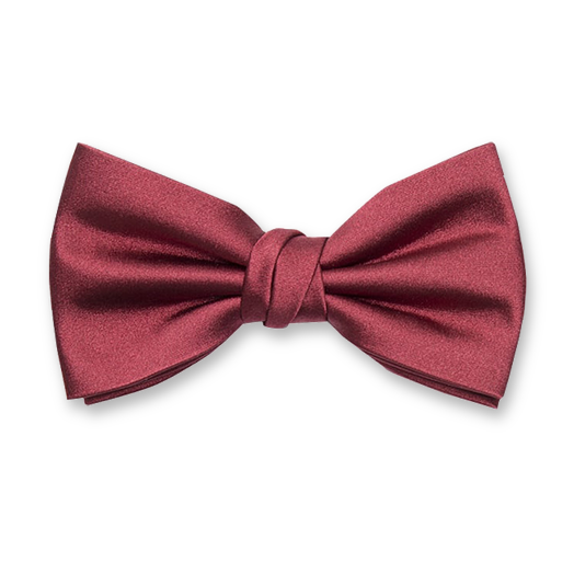 Luxury bow tie brickred – Profuomo (1)