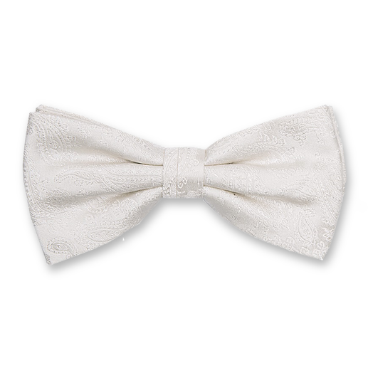 Luxury bow tie for groom - paisley – Profuomo (1)