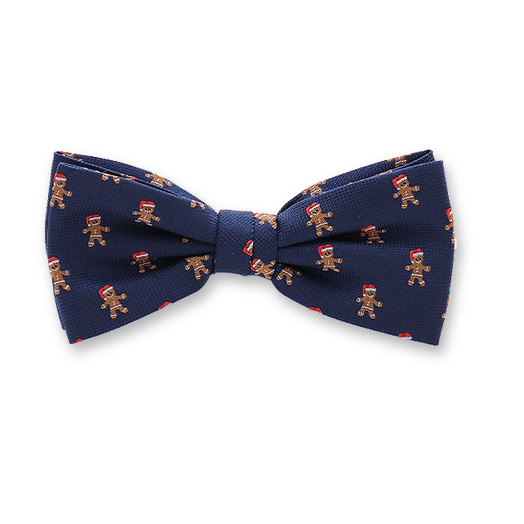 Cristmas bowtie - Gingerbread (1)