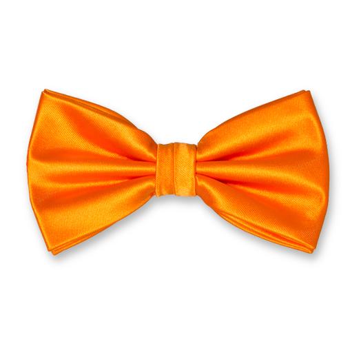 Bow Tie Orange - Polyester (1)