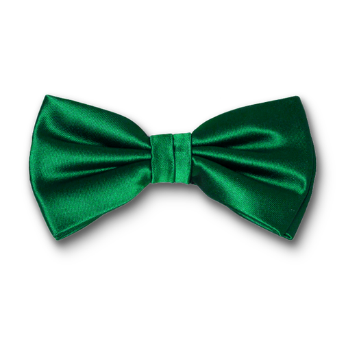 Bow tie Emerald green - polyester (1)