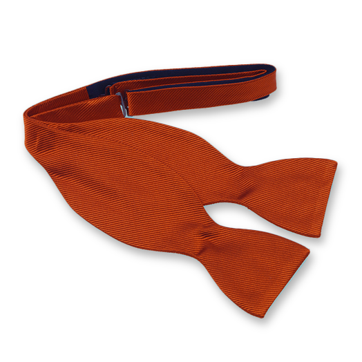 Rusty Self-Tie Bow Tie - Silk (1)