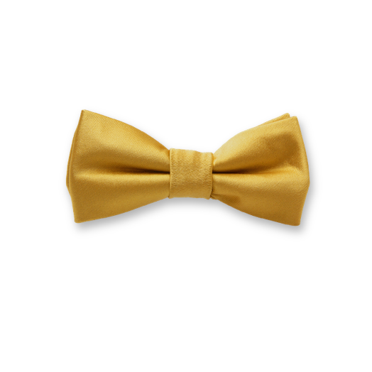 Kids Bow Tie Gold - polyester (1)