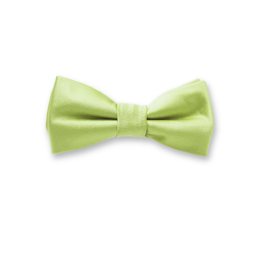 Kids Bow Tie Minty Green - polyester (1)