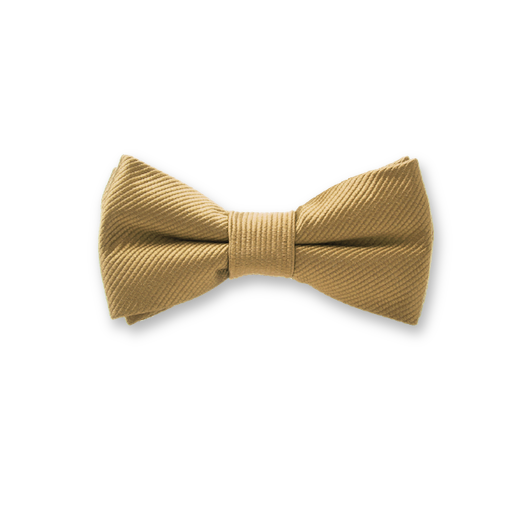 Kids Bow Tie Gold – Silk (1)