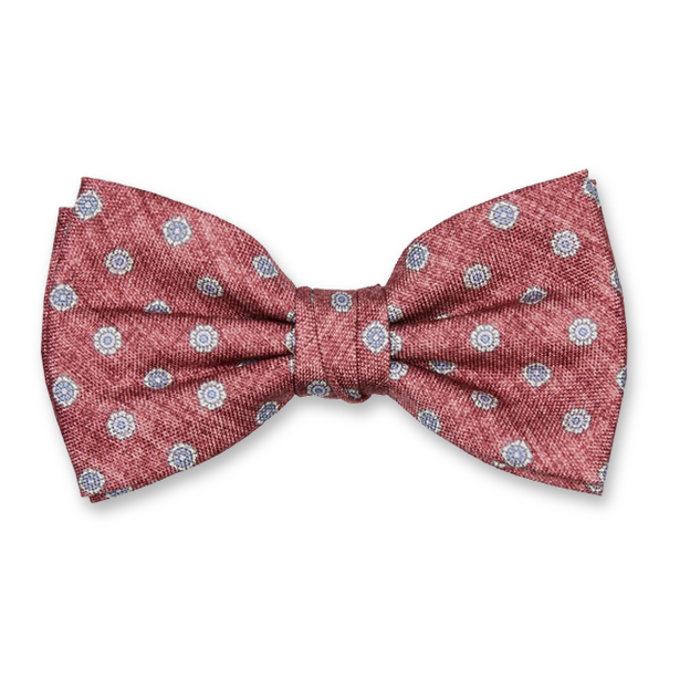 Luxury bow tie Profuomo - Pattern Red (1)