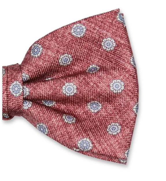 Luxury bow tie Profuomo - Pattern Red (2)