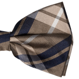 Bow tie - beige square - Thumbnail 2