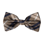 Bow tie - beige square - Thumbnail 1